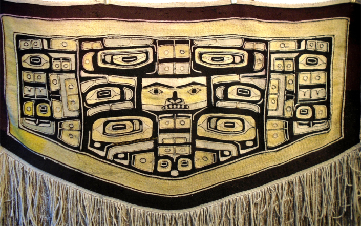 Chilkat blanket source image